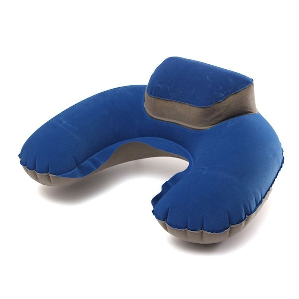 Imported Inflatable Neck Pillow Soft Travel Air Cushion