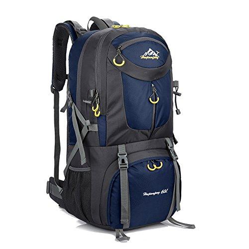 Generic Orange 60L Waterproof Travel Bag